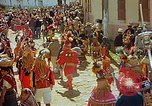 Image of masked mummers Guatemala, 1946, second 12 stock footage video 65675068497