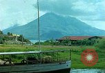 Image of waterfront houses Guatemala, 1946, second 8 stock footage video 65675068499