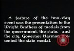 Image of Wright brothers United States USA, 1940, second 7 stock footage video 65675068540