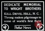 Image of Wright brothers United States USA, 1927, second 6 stock footage video 65675068541