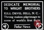 Image of Wright brothers United States USA, 1927, second 7 stock footage video 65675068541