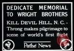 Image of Wright brothers United States USA, 1927, second 8 stock footage video 65675068541