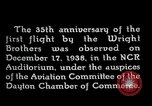 Image of Wright brothers United States USA, 1940, second 5 stock footage video 65675068542