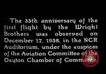 Image of Wright brothers United States USA, 1940, second 6 stock footage video 65675068542