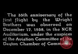 Image of Wright brothers United States USA, 1940, second 7 stock footage video 65675068542