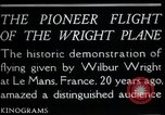 Image of Wilbur Wright Le Mans France, 1908, second 6 stock footage video 65675068543