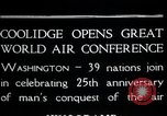 Image of Orville Wright Washington DC USA, 1928, second 2 stock footage video 65675068544