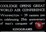 Image of Orville Wright Washington DC USA, 1928, second 4 stock footage video 65675068544