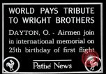 Image of Wright Brothers airplane Dayton Ohio USA, 1928, second 9 stock footage video 65675068549