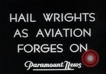 Image of Wrights Brothers Dayton Ohio USA, 1935, second 4 stock footage video 65675068550