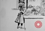 Image of Thrift Stamps cartoon United States USA, 1918, second 11 stock footage video 65675068603