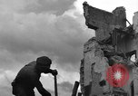 Image of World War 2 damage in Italy Eboli Italy, 1944, second 8 stock footage video 65675068606
