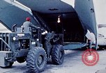 Image of US Military Airlift Command C-5 aircraft fly relief missions to Armeni Armenia, 1988, second 1 stock footage video 65675068674