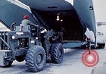 Image of US Military Airlift Command C-5 aircraft fly relief missions to Armeni Armenia, 1988, second 3 stock footage video 65675068674