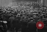 Image of workers meeting London England United Kingdom, 1922, second 7 stock footage video 65675068680
