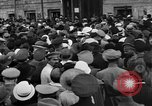 Image of workers meeting London England United Kingdom, 1922, second 9 stock footage video 65675068682