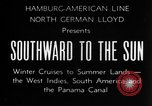 Image of Ships of the Hamburg-American steamship line Atlantic Ocean, 1931, second 8 stock footage video 65675068685