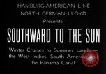 Image of Ships of the Hamburg-American steamship line Atlantic Ocean, 1931, second 12 stock footage video 65675068685