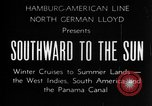 Image of Ships of the Hamburg-American steamship line Atlantic Ocean, 1931, second 15 stock footage video 65675068685