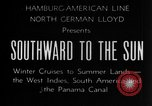 Image of Ships of the Hamburg-American steamship line Atlantic Ocean, 1931, second 17 stock footage video 65675068685