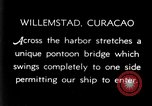 Image of passenger steamship arrival Willemstad Curacao, 1936, second 4 stock footage video 65675068691