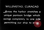 Image of passenger steamship arrival Willemstad Curacao, 1936, second 5 stock footage video 65675068691