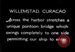 Image of passenger steamship arrival Willemstad Curacao, 1936, second 6 stock footage video 65675068691