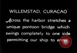 Image of passenger steamship arrival Willemstad Curacao, 1936, second 7 stock footage video 65675068691