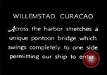 Image of passenger steamship arrival Willemstad Curacao, 1936, second 9 stock footage video 65675068691