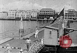 Image of passenger steamship arrival Willemstad Curacao, 1936, second 10 stock footage video 65675068691