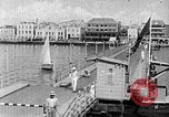 Image of passenger steamship arrival Willemstad Curacao, 1936, second 12 stock footage video 65675068691