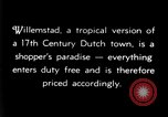 Image of duty free shops Willemstad Curacao, 1935, second 2 stock footage video 65675068692