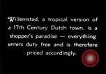 Image of duty free shops Willemstad Curacao, 1935, second 8 stock footage video 65675068692