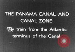 Image of Panama Canal Zone Panama Canal, 1936, second 1 stock footage video 65675068695