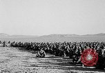 Image of US soldiers witness atomic explosion Camp Desert Rock Nevada USA, 1951, second 12 stock footage video 65675068697