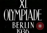 Image of Fleisher wins Javelin in 1936 Olympics Berlin Germany, 1936, second 2 stock footage video 65675068701