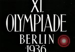 Image of Fleisher wins Javelin in 1936 Olympics Berlin Germany, 1936, second 5 stock footage video 65675068701
