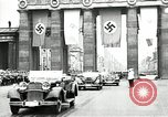 Image of Hitler arriving at 1936 Olympic games Berlin Germany, 1936, second 1 stock footage video 65675068703