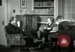 Image of American family listening to their radio United States USA, 1935, second 1 stock footage video 65675068707