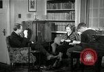 Image of American family listening to their radio United States USA, 1935, second 2 stock footage video 65675068707