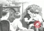 Image of Family listening to their radio Chicago Illinois United States USA, 1935, second 1 stock footage video 65675068708