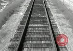 Image of railway track United States USA, 1936, second 2 stock footage video 65675068719