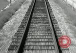 Image of railway track United States USA, 1936, second 3 stock footage video 65675068719