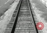Image of railway track United States USA, 1936, second 4 stock footage video 65675068719