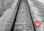 Image of railway track United States USA, 1936, second 5 stock footage video 65675068719