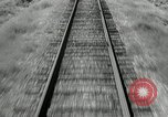 Image of railway track United States USA, 1936, second 7 stock footage video 65675068719