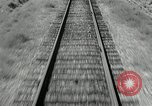 Image of railway track United States USA, 1936, second 8 stock footage video 65675068719