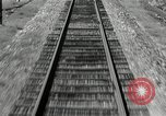Image of railway track United States USA, 1936, second 10 stock footage video 65675068719