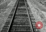 Image of railway track United States USA, 1936, second 11 stock footage video 65675068719