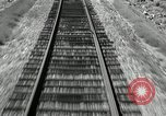 Image of railway track United States USA, 1936, second 12 stock footage video 65675068719
